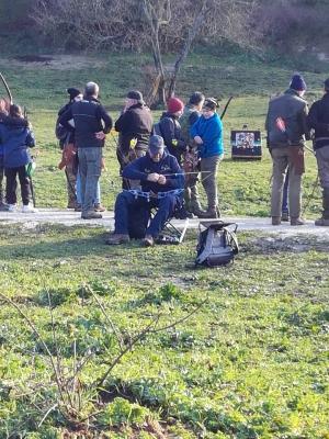 12 veio tiro con l'arco dinamico roma